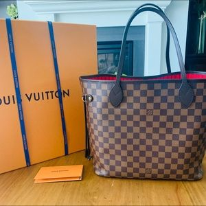 New Authentic Louis Vuitton Neverfull MM